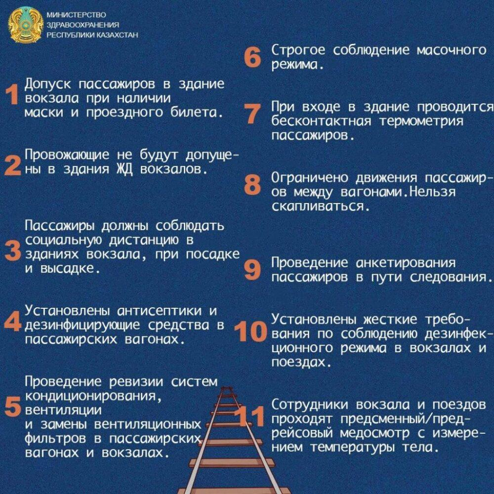 В Казахстане продано 217 тысяч железнодорожных билетов за 10 дней 1