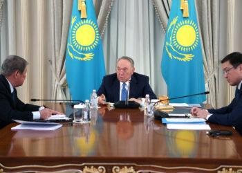 Руководство «Самрук-Қазына» удостоилось похвалы Назарбаева 3