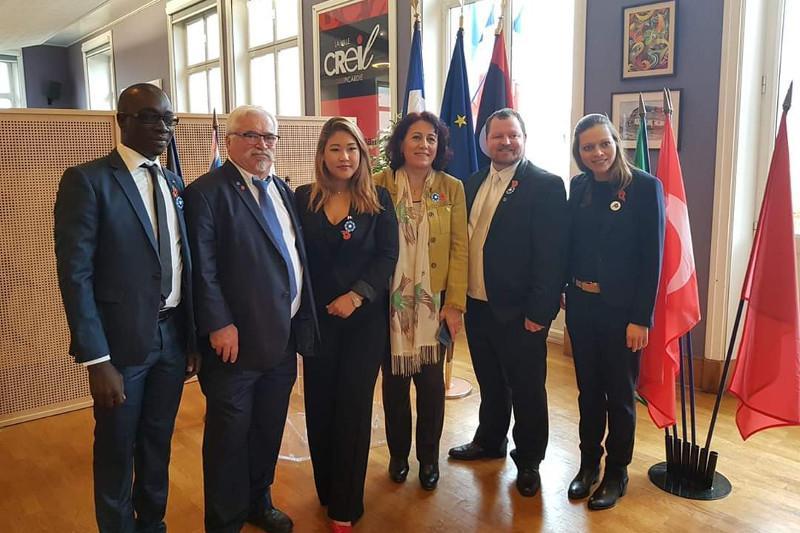 Казахстанка стала заместителем мэра во Франции 1