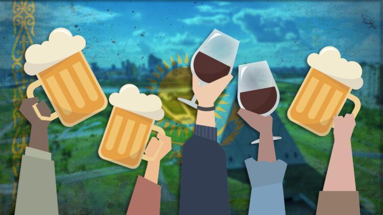 Алкогольный выбор казахстанцев: забыть про фитнес-клубы, крепче - лучше, а пива много не бывает 1