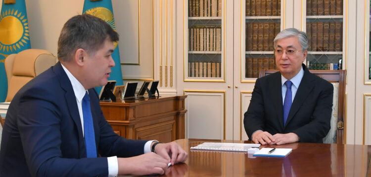 Биртанов попросил Токаева освободить его от должности министра здравоохранения 1