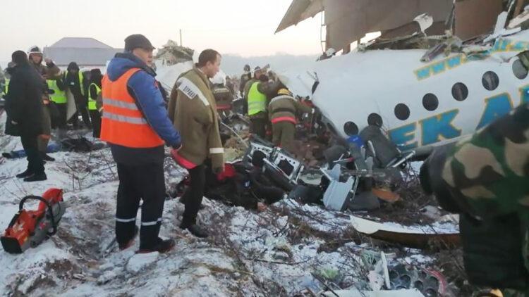 Расследование по делу крушения самолета Bek Air может затянутся из-за пандемии COVID-19 1