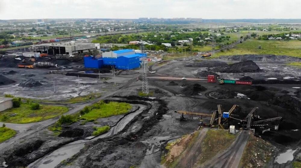 Угольный завод устроил свалку токсичных отходов возле Караганды