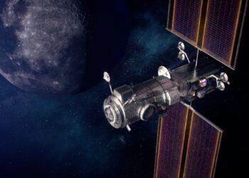 NASA сообщило о создании жилого блока на окололунной подстанции 1