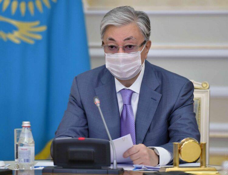 Токаев провел совещание по поводу беспорядков в Сатпаеве 1
