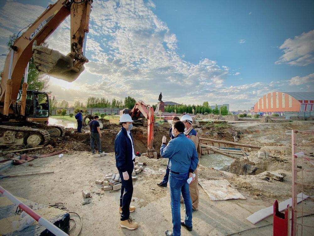 Центр правобережья Нур-Султана перестанет тонуть в дождевых водах только к 2021 году