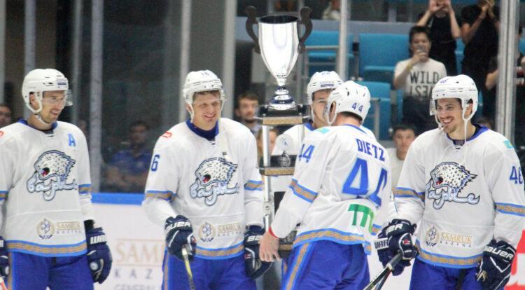 Хоккейный клуб «Барыс» отменил кубок Президента 1