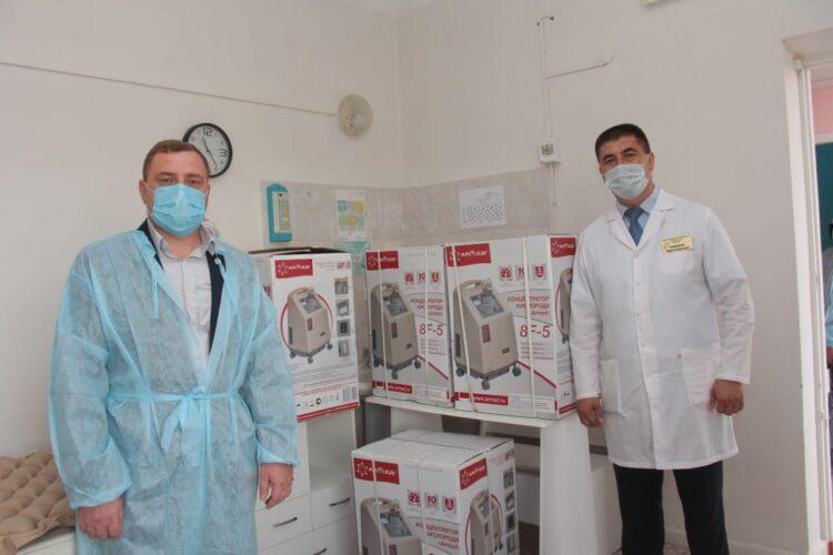 Бизнесмен-партиец Nur Otan подарил медоборудование районной больнице Костанайской области 1