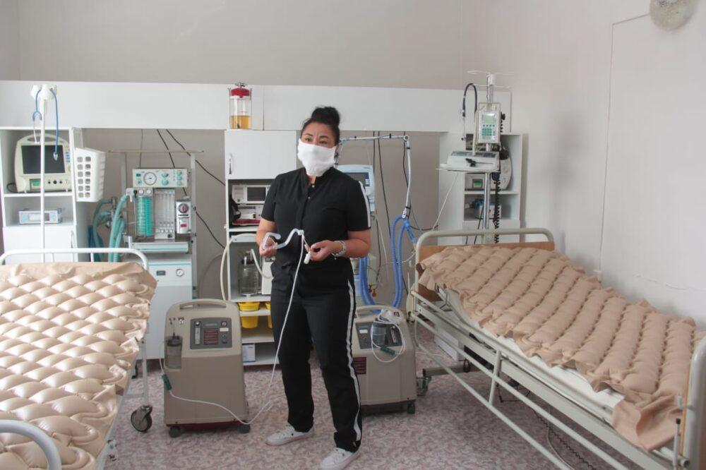 Бизнесмен-партиец Nur Otan подарил медоборудование районной больнице Костанайской области 2