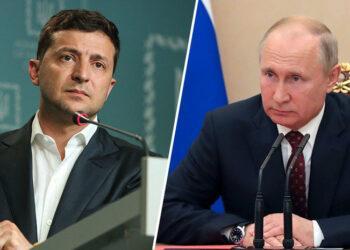 Зеленский позвонил Путину 3