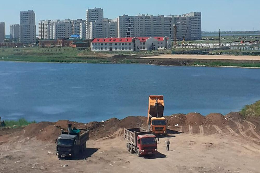 Для строительства школ и больниц на левом берегу Нур-Султана осушат целое озеро 1