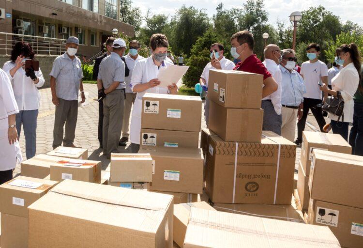Жамбылцы собрали 48 миллионов тенге на лекарства для малообеспеченных семей 1