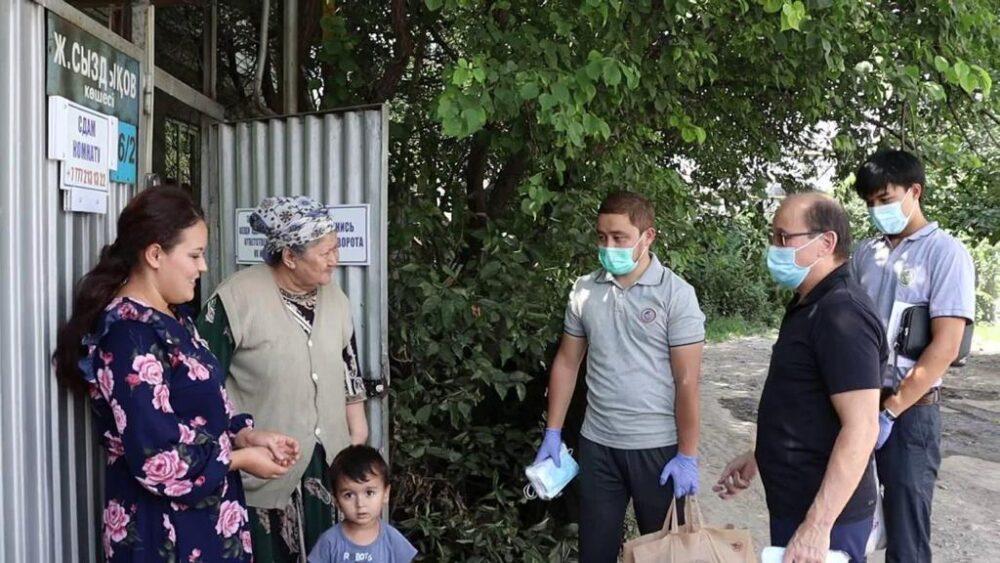 Алматинский филиал партии «Nur Otan» поздравляет всех казахстанцев со священным праздником мусульман Курбан айт 1