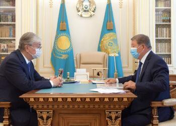 Токаеву рассказали о планах по созданию производства вакцины от коронавируса совместно с Россией 2