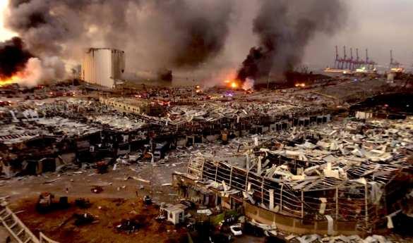 К взрыву в Бейруте оказался причастен бизнесмен из России - СМИ 1