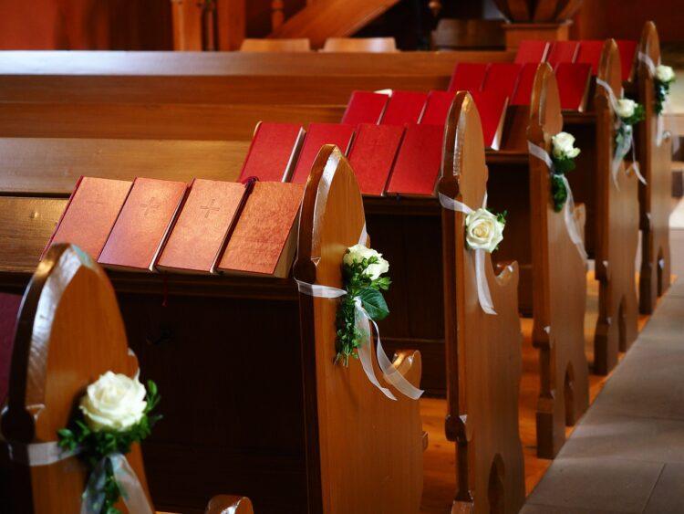 В СКО больше полусотни гостей отпраздновали свадьбу в церкви 1