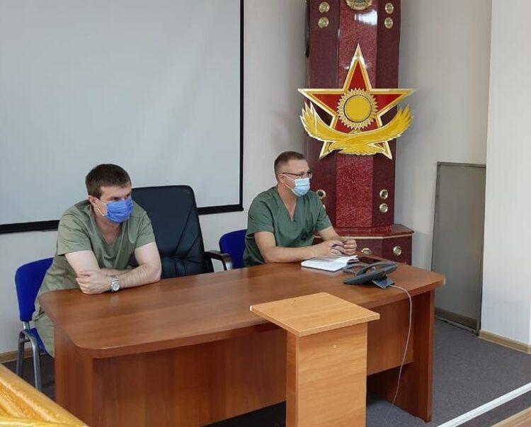Военные медики Казахстана и России приступили к совместной работе по борьбе с коронавирусом 1