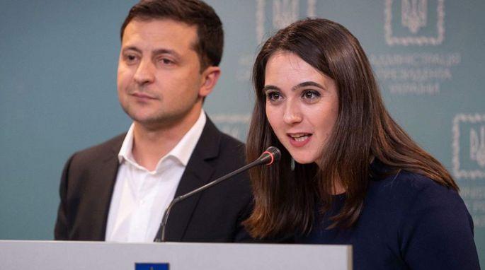 Пресс-секретарь Зеленского заработала в августе больше, чем он сам 1