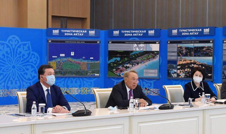 Елбасы презентовали проект развития туристического хаба на побережье Каспийского моря 1