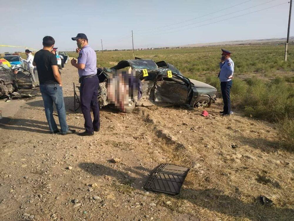 Три человека погибли в ДТП в Туркестанской области 2