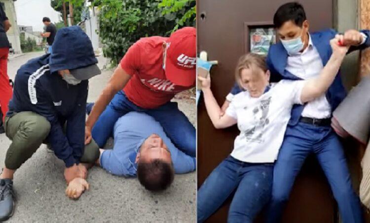 Вооруженные мужчины пытались выселить из дома многодетную семью в Алматы 1