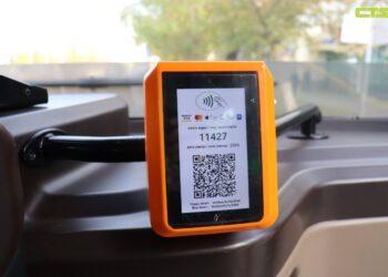 В Нур-Султане проезд на автобусе можно будет оплатить банковской картой 1