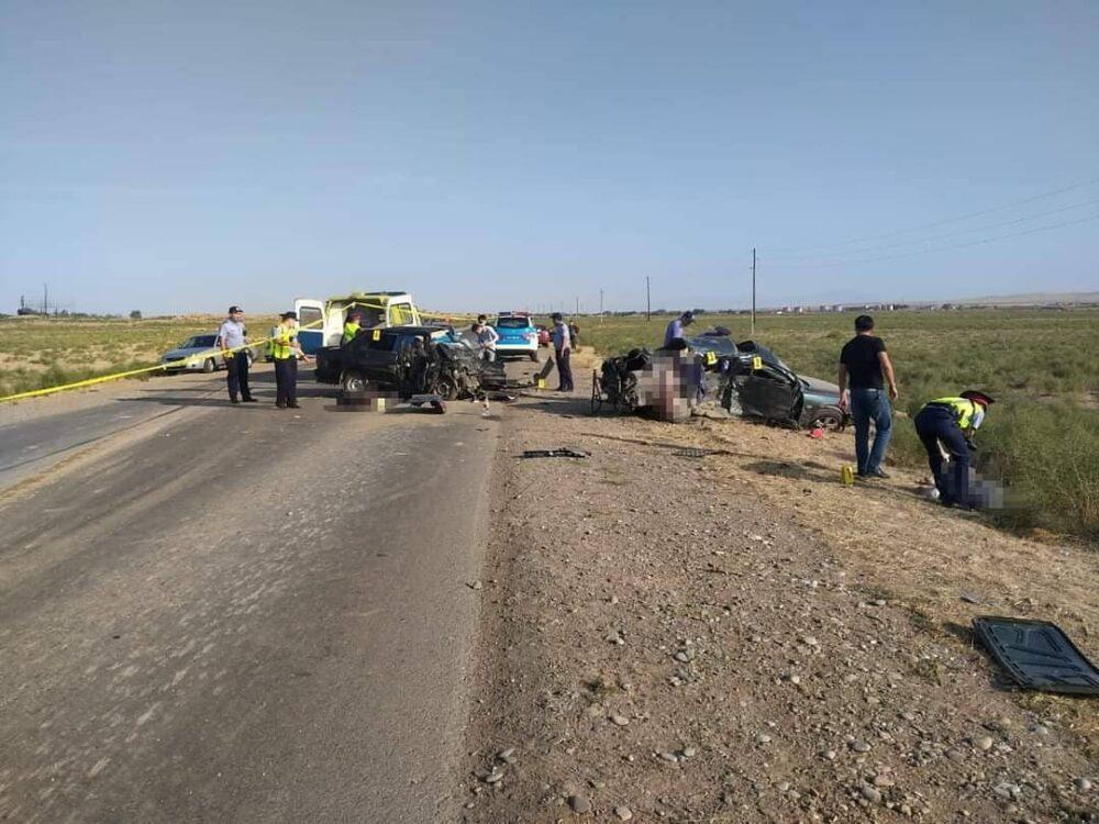 Три человека погибли в ДТП в Туркестанской области 3