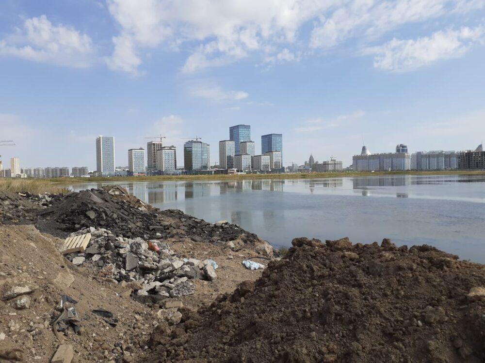 Малый Талдыколь: Ученые выступили против осушения озера в Нур-Султане 7