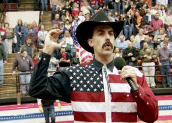 BORAT: CULTURAL LEARNINGS OF AMERICA FOR MAKE BENEFIT GLORIOUS NATION OF KAZAKHSTAN, Sacha Baron Cohen, 2006. TM & ©20th Century Fox. All rights reserved./courtesy Everett Collection