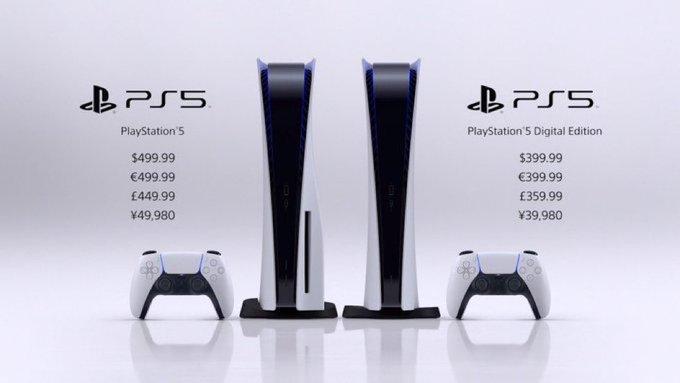 Стала известна официальная цена и дата выхода PlayStation5 1