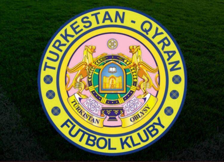 Туркестанский футбольный клуб представил новую эмблему с ошибками в названии города 1