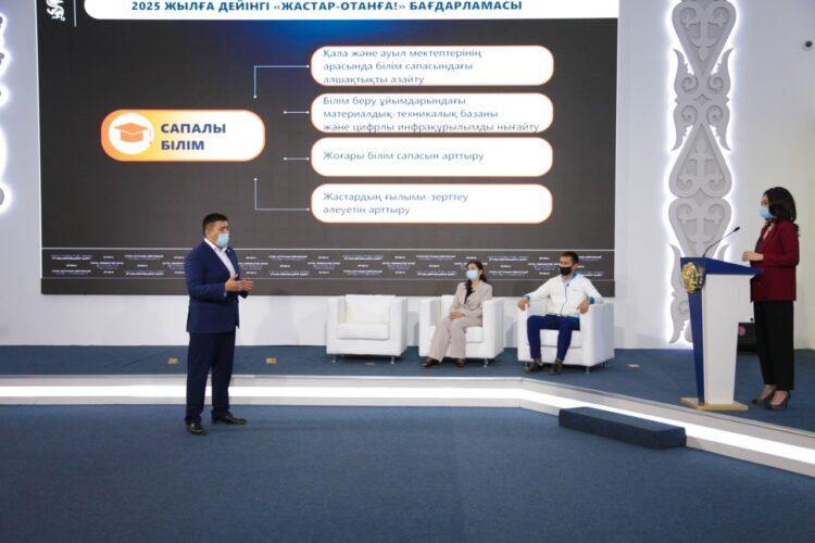 Пять направлений развития молодежной политики разработали в Jas Otan 1
