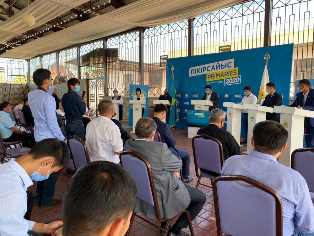 В Туркестанской области за два дня участники праймериз провели 47 дебатов 4