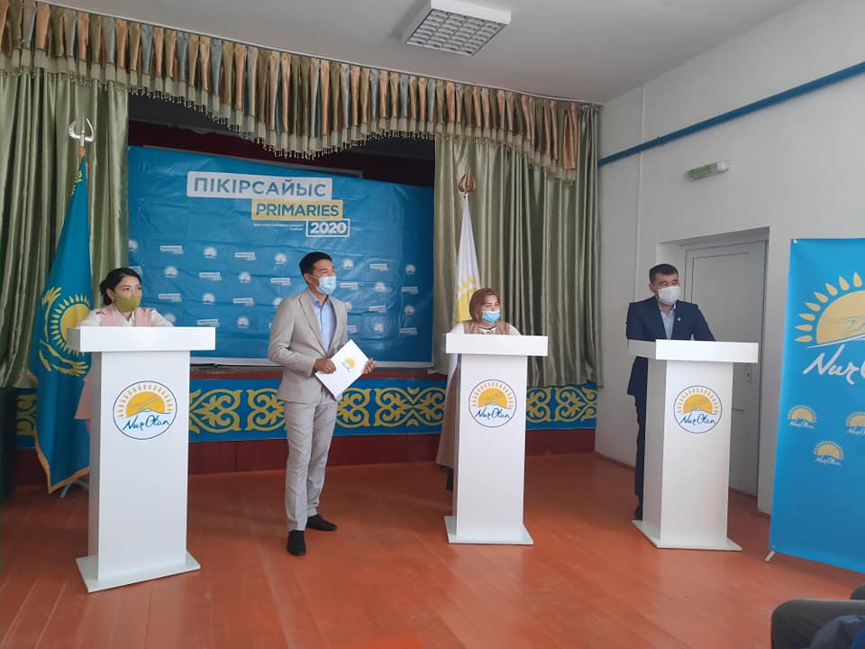 В Туркестанской области за два дня участники праймериз провели 47 дебатов 1