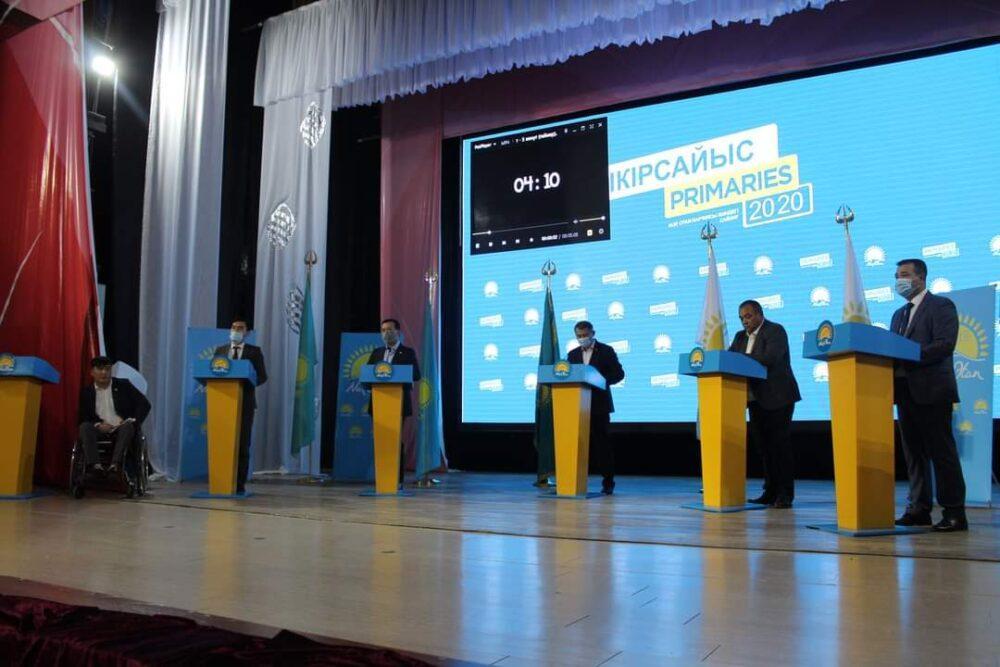 В Туркестанской области за два дня участники праймериз провели 47 дебатов 3