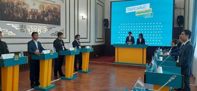 Завершился первый этап дебатов праймериз в Нур-Султане 1