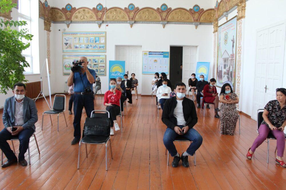 В Туркестанской области с начала праймериз организовано более 700 мероприятий 3