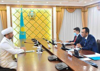 Ашимбаев встретился с Верховным муфтием Казахстана 2