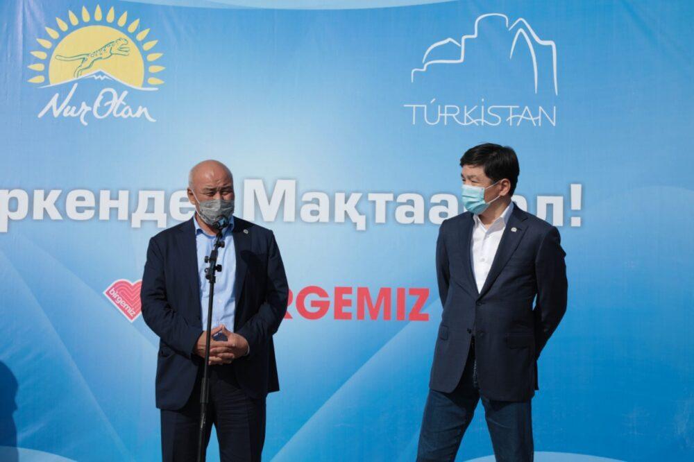 Байбек: 560 предложений от населения учтут в предвыборной программе Туркестанской области 1