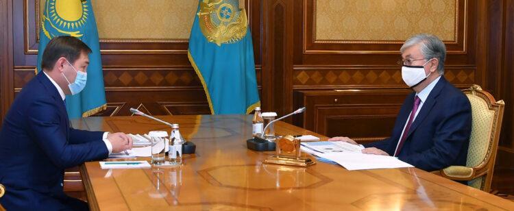 Токаеву доложили о подготовке к возможной второй волне пандемии коронавируса 1