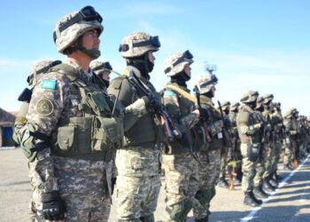 Фото: Пресс-служба министерства обороны Казахстана
