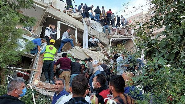 Мощное землетрясение произошло в Турции 1