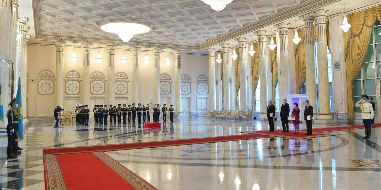 Президент принял верительные грамоты послов Австрии, Белоруссии, Франции и Венгрии