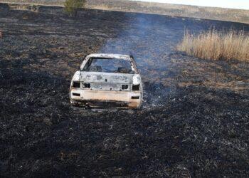 Сельчанин угнал и сжег чужую машину в ЗКО 3