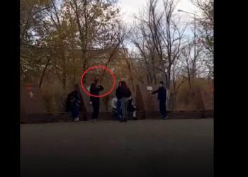 Фото: скриншот с видео очевидцев
