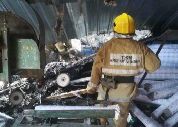 Взрыв произошел в цехе туалетной бумаги в Алматинской области 4
