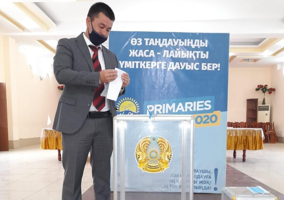 На праймериз Nur Otan в Туркестанской области проголосовали 58 тысяч человек 1