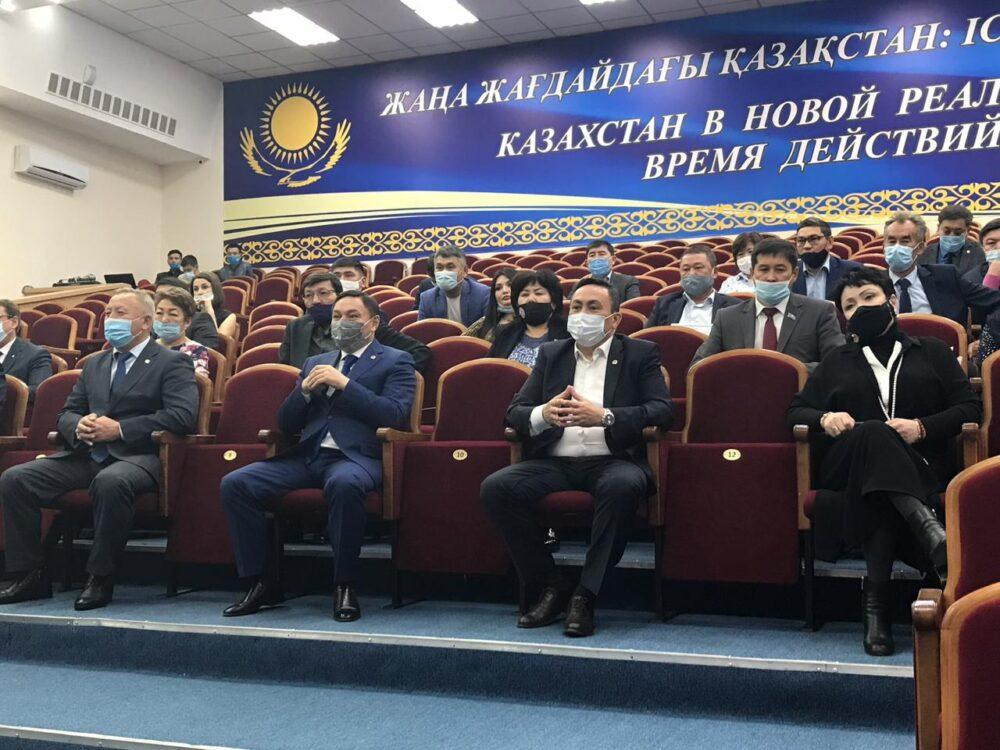 Ермек Маржикпаев поблагодарил участников праймериз 1