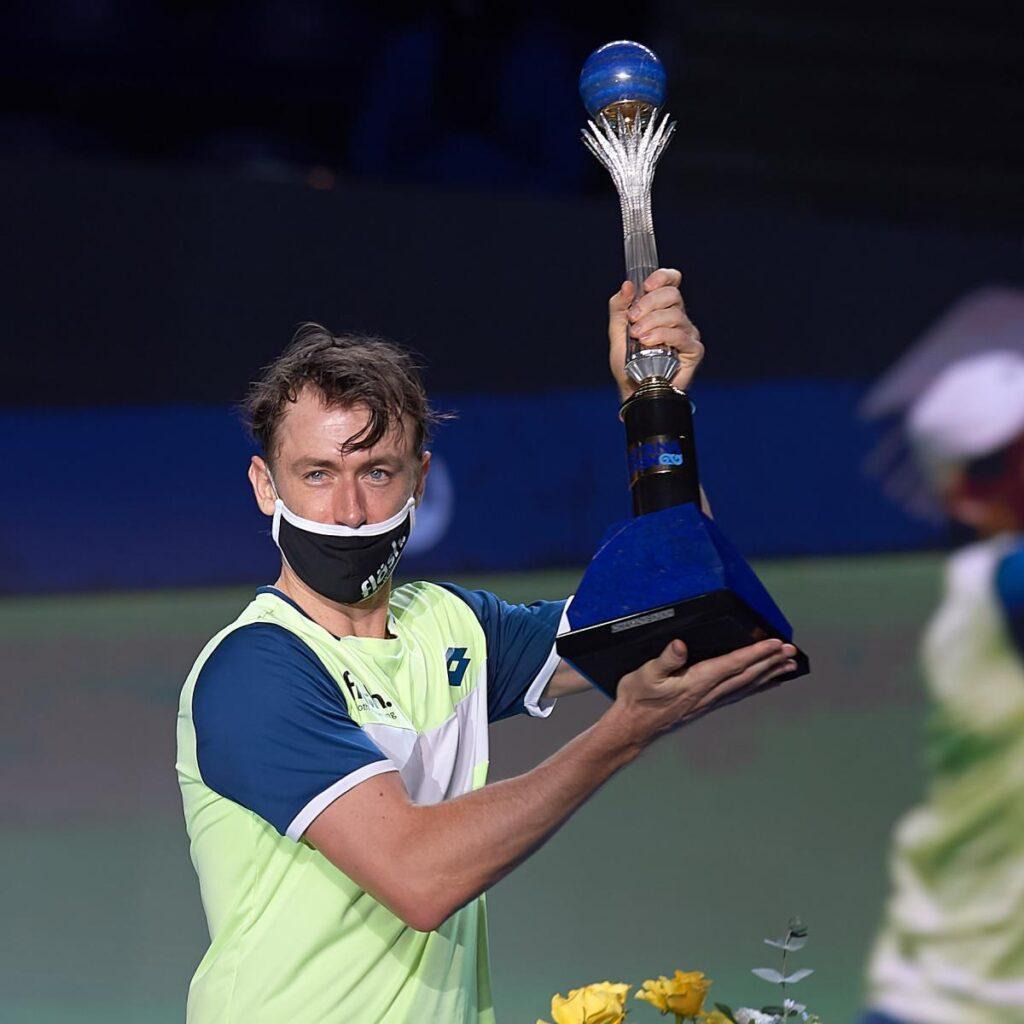 Определился победитель турнира ATP 250 Astana Open 1