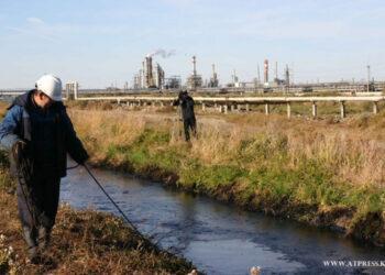 Срочно решить вопрос с выбросами серы призвали Атырауский НПЗ 1